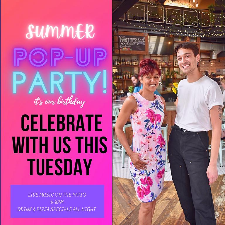 Patio Party POP-UP
