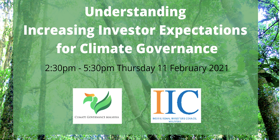 Understanding Increasing Investor Expectations for Climate Governance