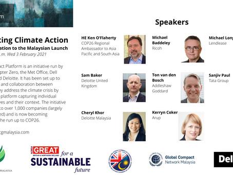 Goal 13 Impact Platform - Keynote from HE Ken O'Flaherty