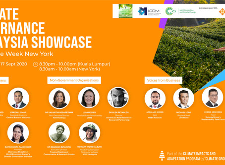 Malaysia Showcase at Climate Week New York
