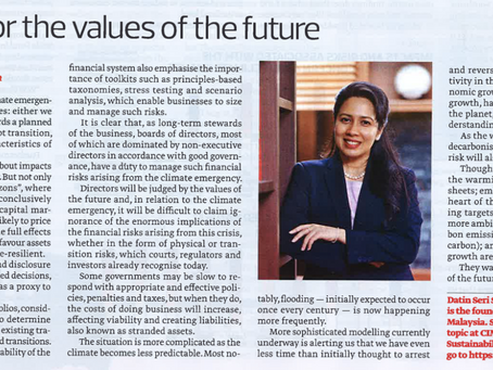 Get Set For The Values Of The Future