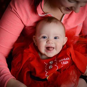 Mia - 6 months (Christmas)