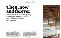 Audemars Piguet's New Museum - THE WEEK FASHION, November 2020