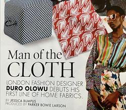 Man of the Cloth - ELLE DECOR US FEBRUARY 2020