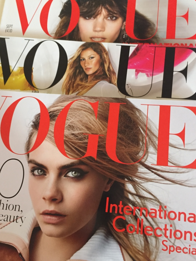 BRITISH VOGUE - 2007 TO 2015
