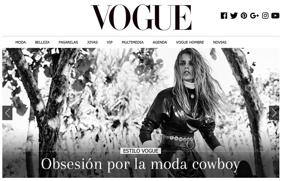 VOGUE INTERNATIONAL