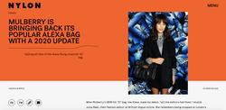 Mulberry is Bringing Back its Popular Alexa Bag - NYLON, November 2020
