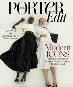 Cover story: Alek Wek and Gemma Ward - NET-A-PORTER THE EDIT