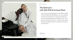 Cover Story: Interview with Alek Wek and Gemma Ward - NET-A-PORTER THE EDIT MARCH 2019