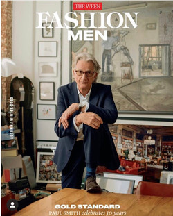 Paul Smith Cover Interview - THE WEEK FASHION, October 2020