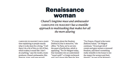 Renaissance woman - THE WEEK FASHION FEBRUARY 2020