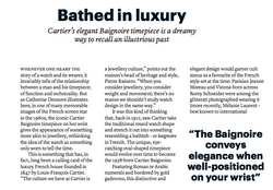 Bathed in Luxury - THE WEEK FASHION DECEMBER 2019