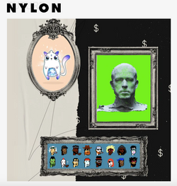 Digital Art Boom, NFTs - NYLON, March 2021
