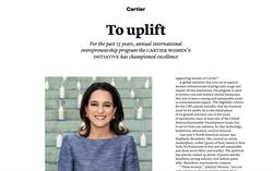 Cartier Women's Initiative - THE WEEK Fashion US, June 2021