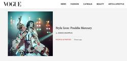 Style Icon: Freddie Mercury - VOGUE INTERNATIONAL