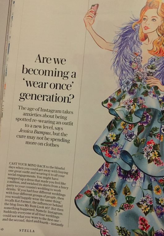 Are We Becoming a Wear Once Generation? - STELLA MAGAZINE November 2017