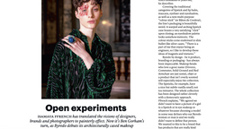 Isamaya Ffrench Interview - THE WEEK FASHION, September 2020