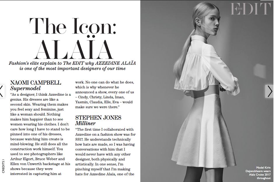 The Icon: Alaia - NET-A-PORTER THE EDIT