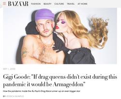 Inside The Colourful World of Gigi Goode - HARPER'S BAZAAR UK, September 2020