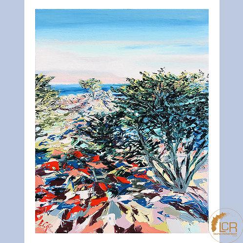 Pebble Beach, Lone Cypress: 16'' x 20''