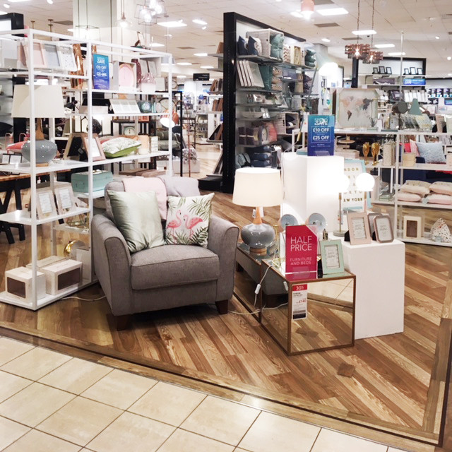 Homeware Section