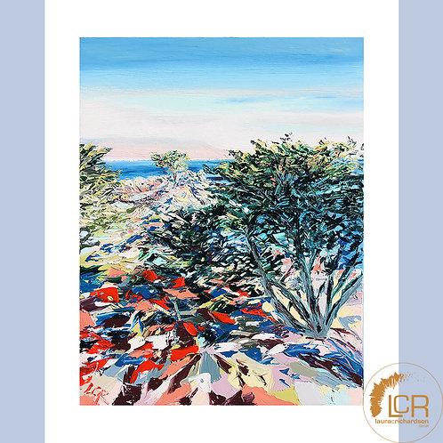Pebble Beach, Lone Cypress: 8'' x 10''