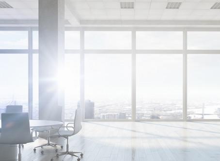 Produktive Beleuchtung im Büro