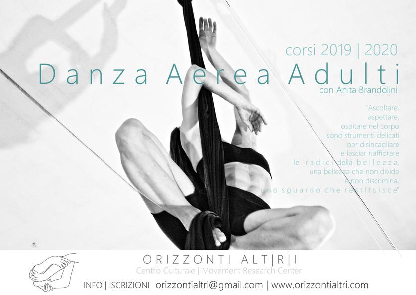 Danza Aerea Firenze | corsi adulti-bambini 2019 2020