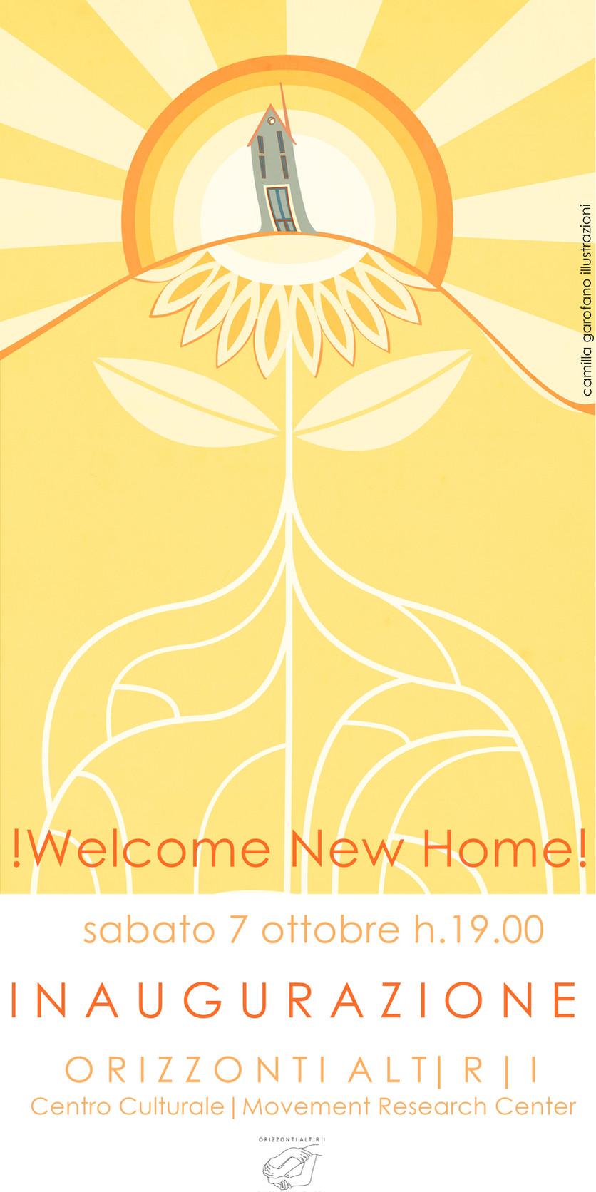 Welcome New Home ! Orizzonti ALTRI !