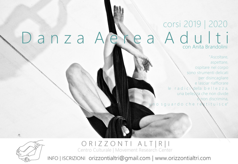 Danza Aerea Adulti   corsi 2019-2020