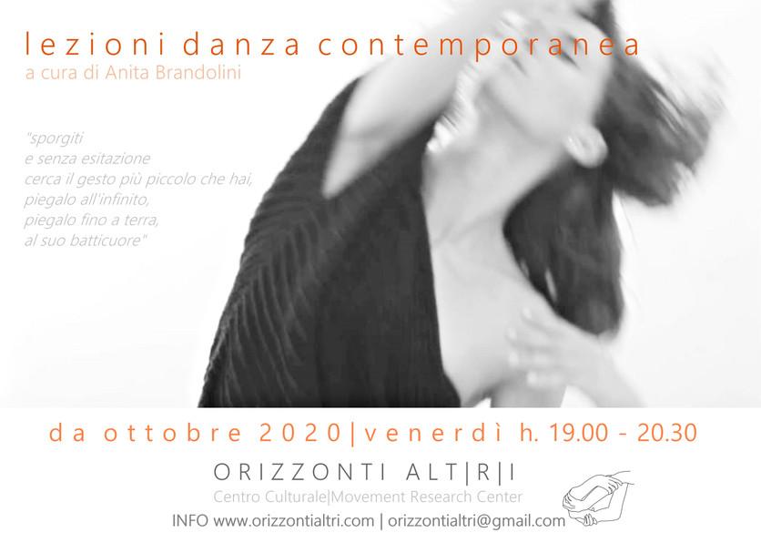 lezioni danza contemporanea