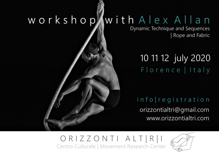 Workshop with Alex Allan | Dynamic Technique and Sequences | Rope and Fabric
