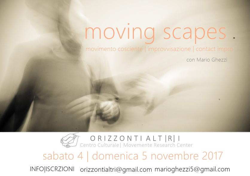 MOVING SCAPES |movimento cosciente| improvvisazione| contact impro