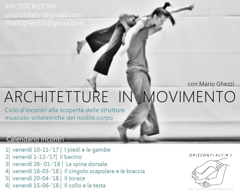 Architetture in Movimento | ciclo di incontri con Mario Ghezzi