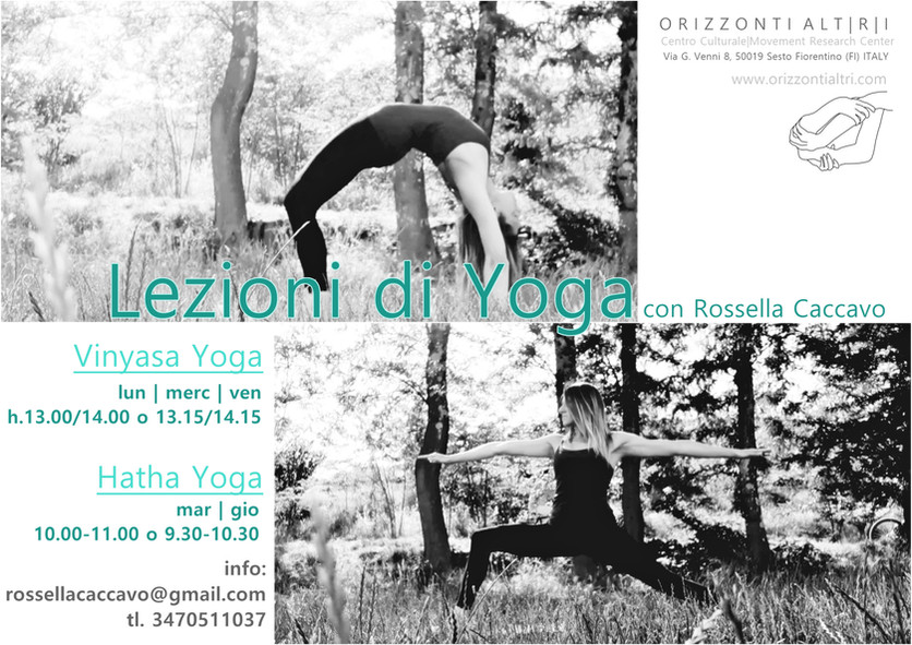 Lezioni di Yoga a settembre | Vinyasa Yoga e Hatha Yoga