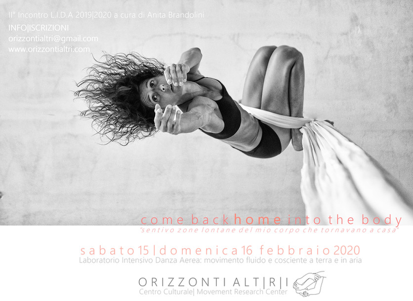 Come back HOME into the body|2°Laboratorio Intensivo danza aerea