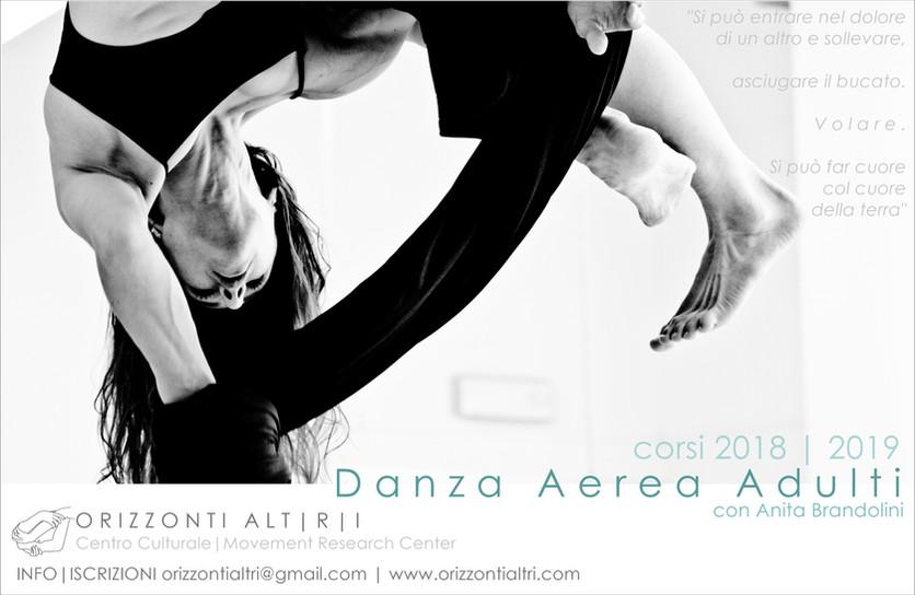 Danza Aerea Adulti | corsi 2018-2019