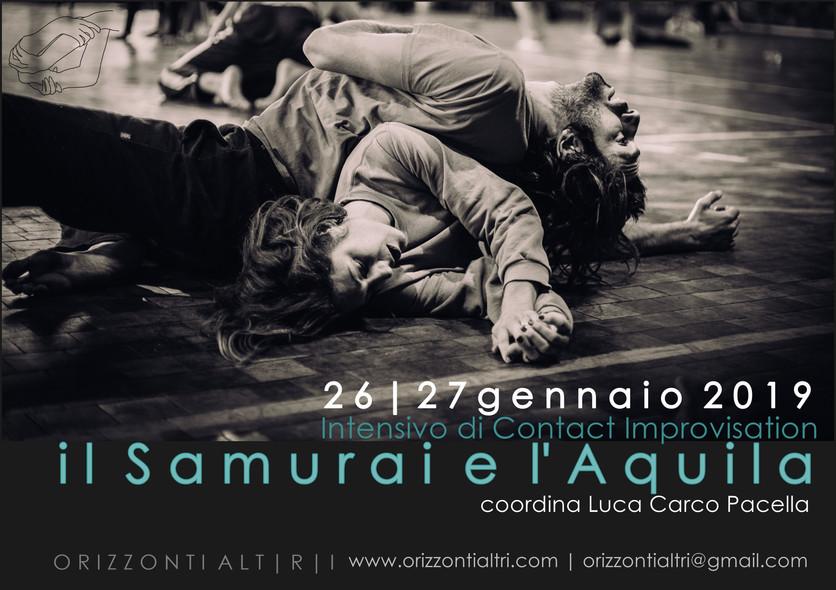 Il Samurai e L'aquila   Intensivo di Contact Improvisation con Luca Carco Pacella   26-27 gennaio