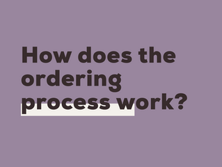 FAQ: How does the ordering process work?