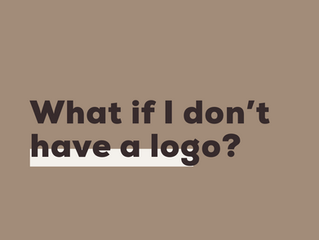 FAQ: What if I don't have a logo?