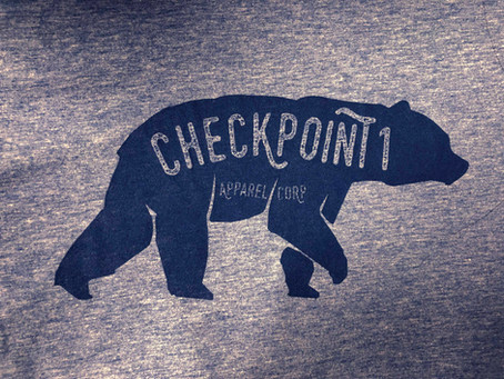 New T-shirt Design for Checkpoint One Apparel