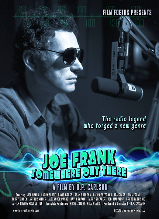 Joe Frank Somewhere Out There Official Movie Poster