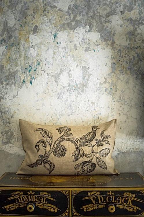 Pomegranate and Bird Cushion