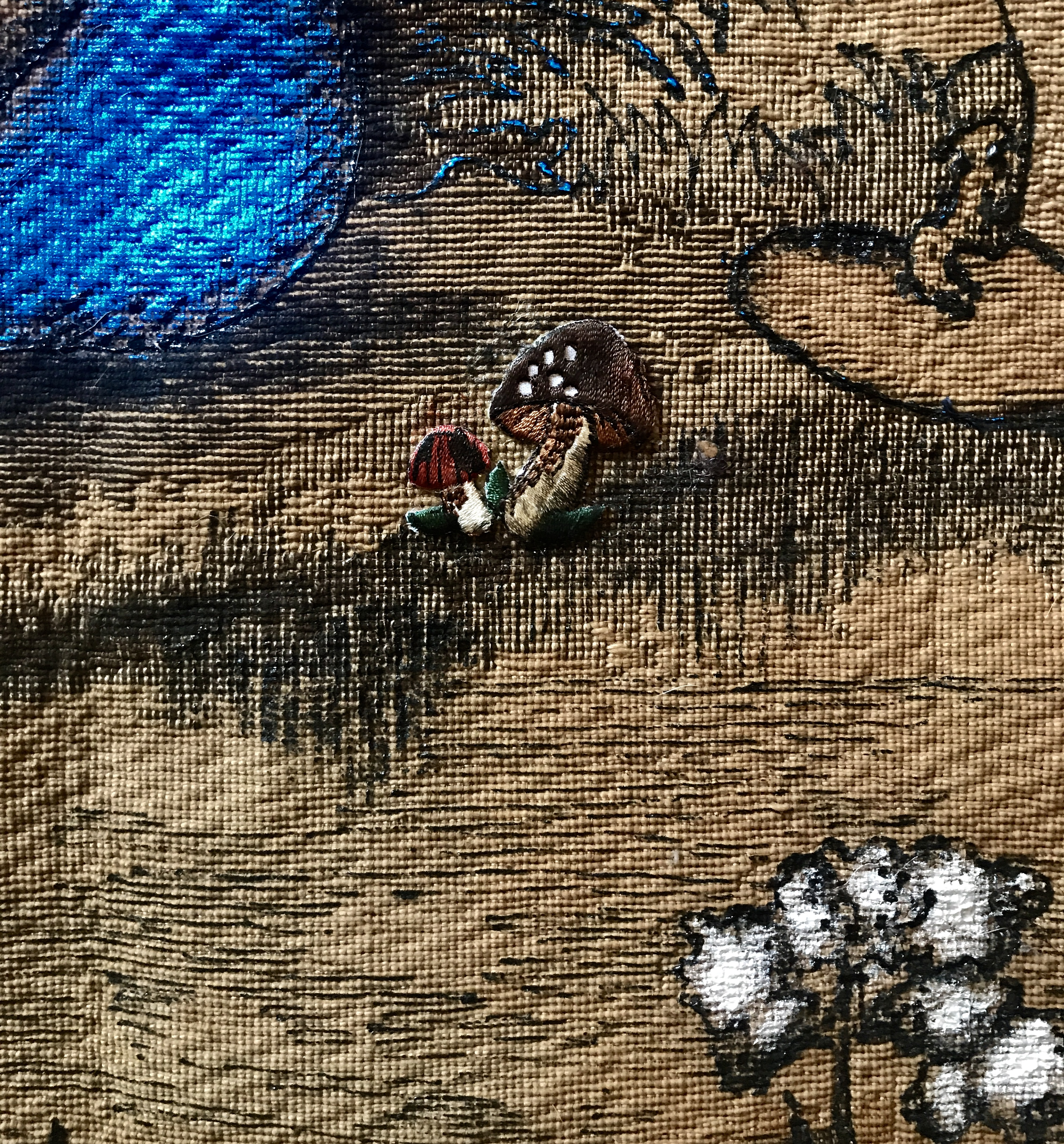 tapestry, funghi