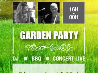 GardenParty dimanche 13 Mai 2018