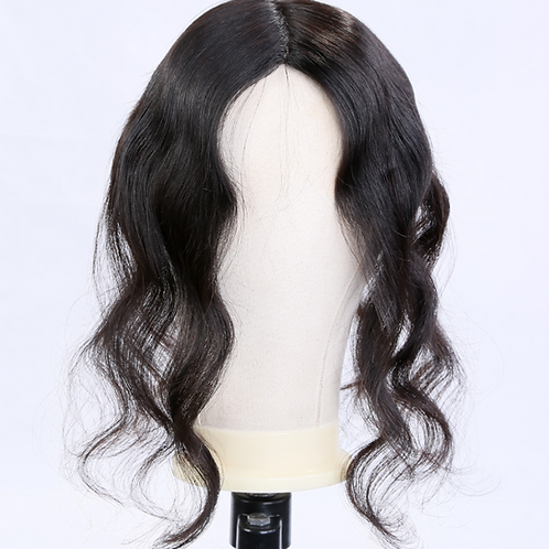 Natural Black Hair Topper