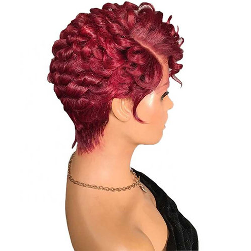 Dixie Lace Frontal Pixie Wig (100% Remy Human Hair)