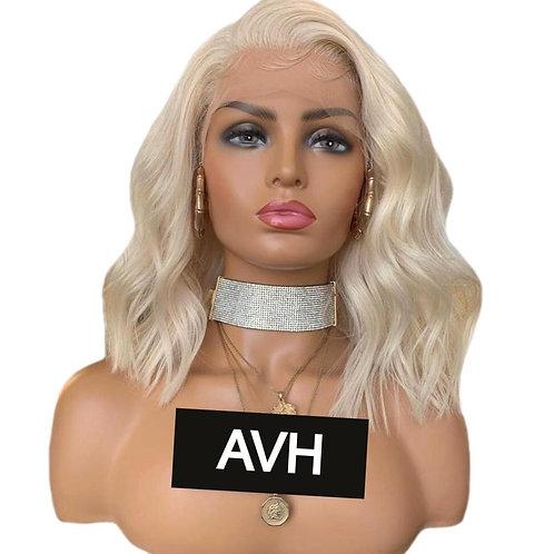 Mandy Bob Cut Front Lace Wig (100% Remy Human Hair)