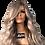 Thumbnail: Chantal Full Lace Wig (100% Remy Human Hair)