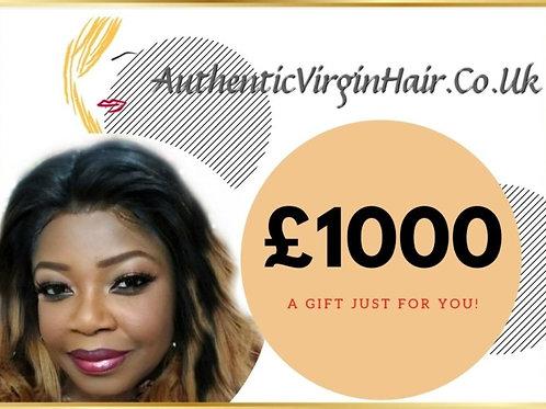 £1000 Gift Card